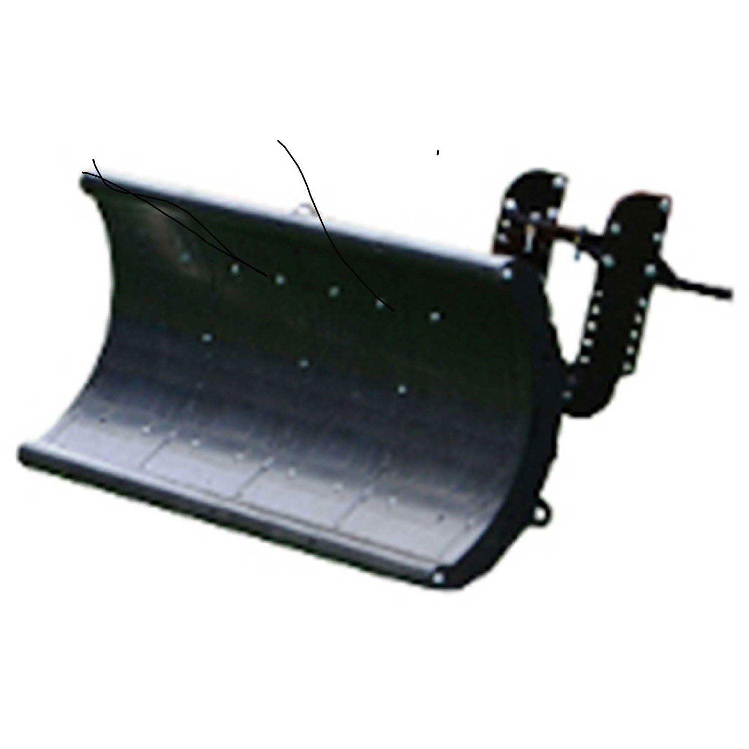 Nordic Auto Plow NAP-GCL4 Lightweight Rounded Edge 64'' Snow Plow: Lifted Frame Club Car Golf Carts by Nordic Auto Plow LLC