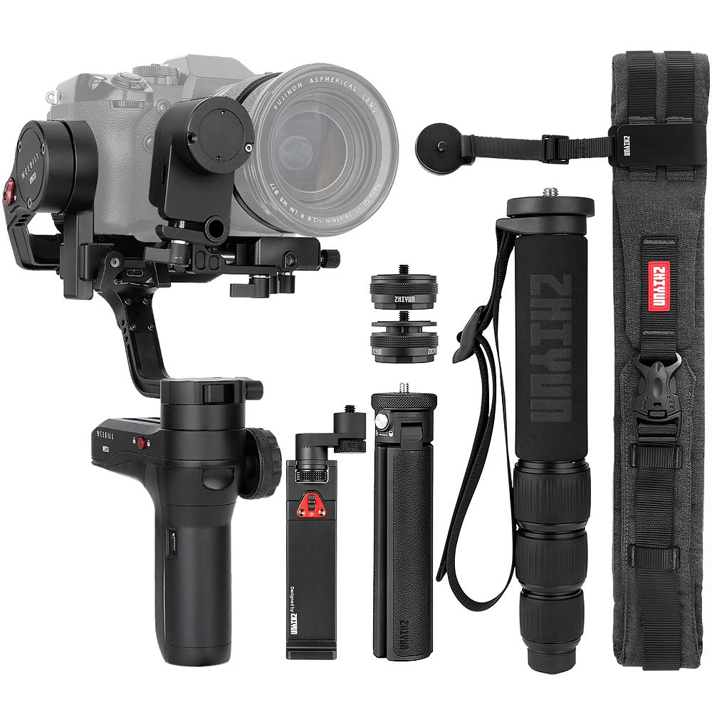 Zhiyun (Official) Weebill Lab 3-Axis Gimbal Stabilizer for Mirrorless Cameras (Creator Package) by zhi yun