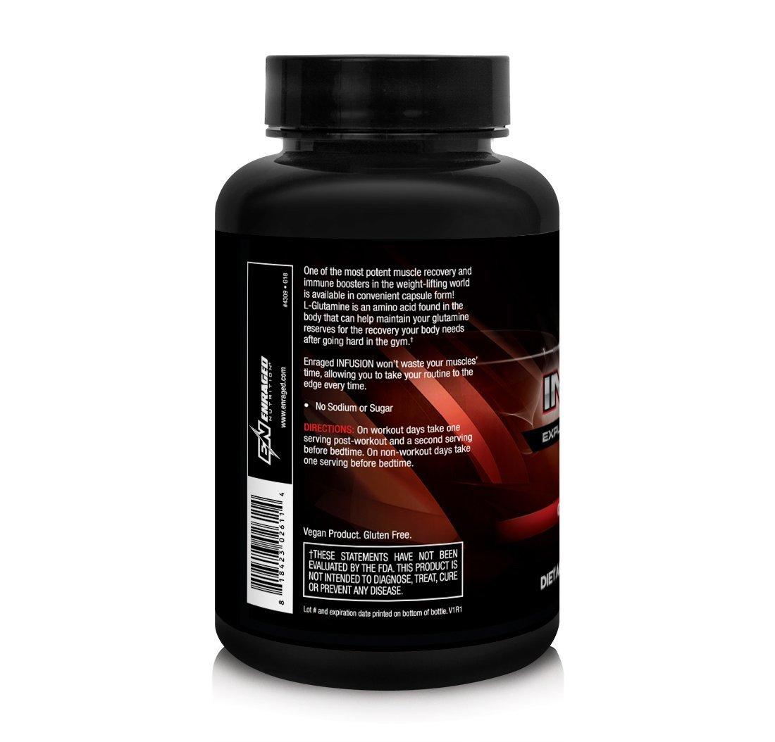 Enraged Nutrition Infusion Explosive Glutamine Blast Capsules