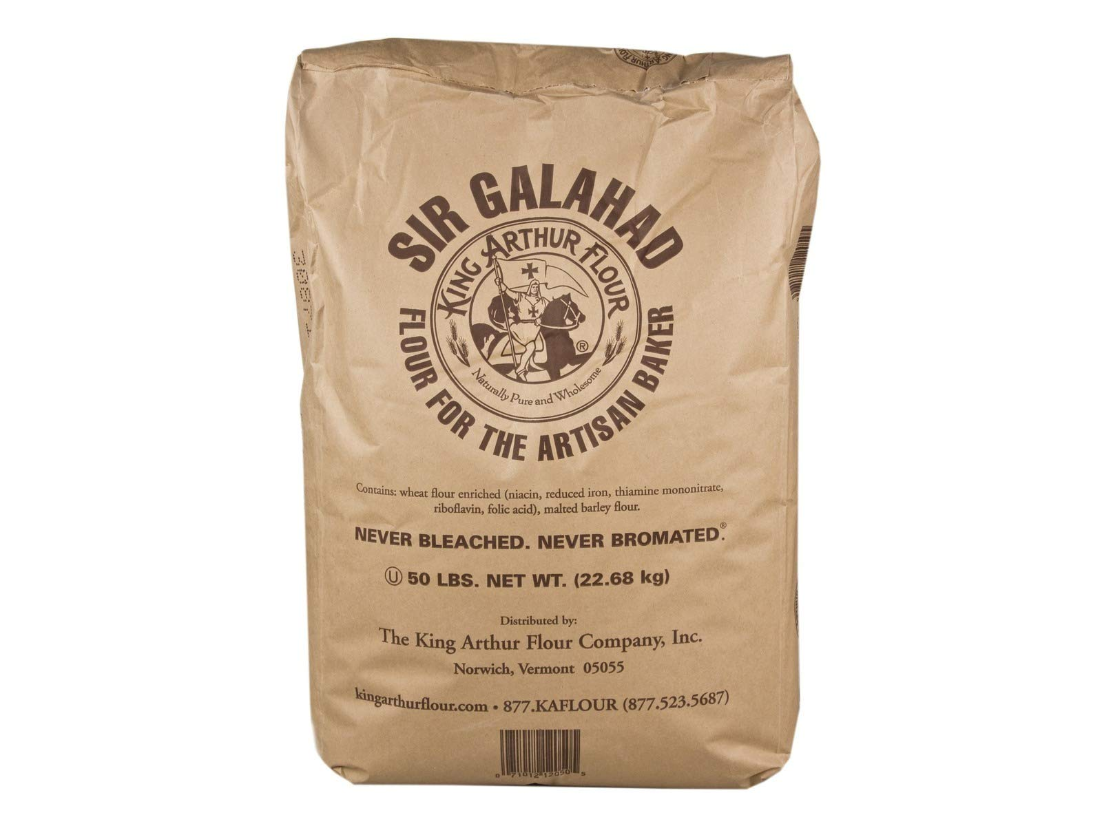 King Arthur Sir Galahad All Purpose Flour, 50 Lbs.