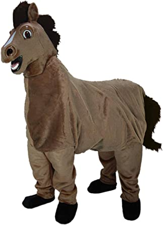 Amazon.com: 2-person caballo Mascot Costume: Clothing