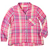 OFFCORSS Big Girl Long Sleeve Blouse For Girls Blusas Para Niñas Pink 4