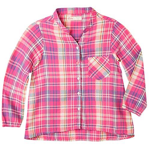 (OFFCORSS Big Girl Long Sleeve Blouse For Girls Blusas Para Niñas Pink)