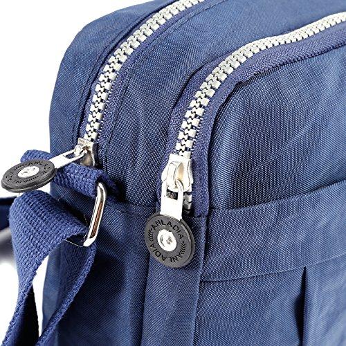 Nylon Fraulein38 Shoulder Casual Bag Blue Bags Crossbody Women's Sqqgpf