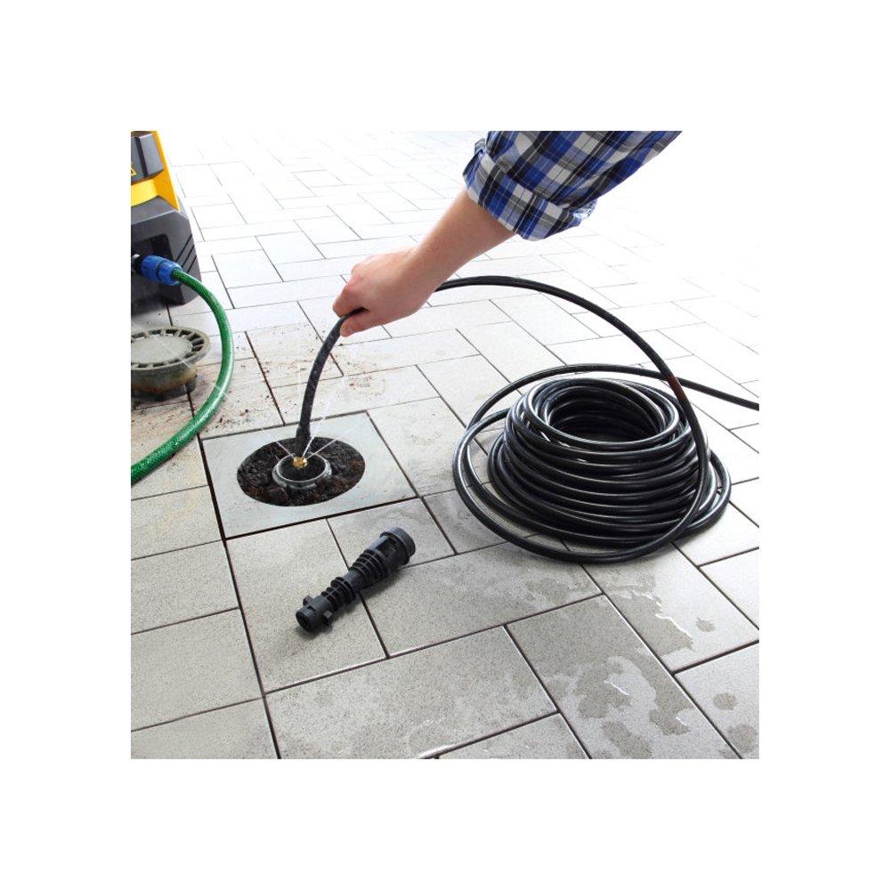 Druck 150 bar NEU Rohrreinigungsset Rohrreiniger Rohrreinigungsschlauch Abflussreiniger 15 m max