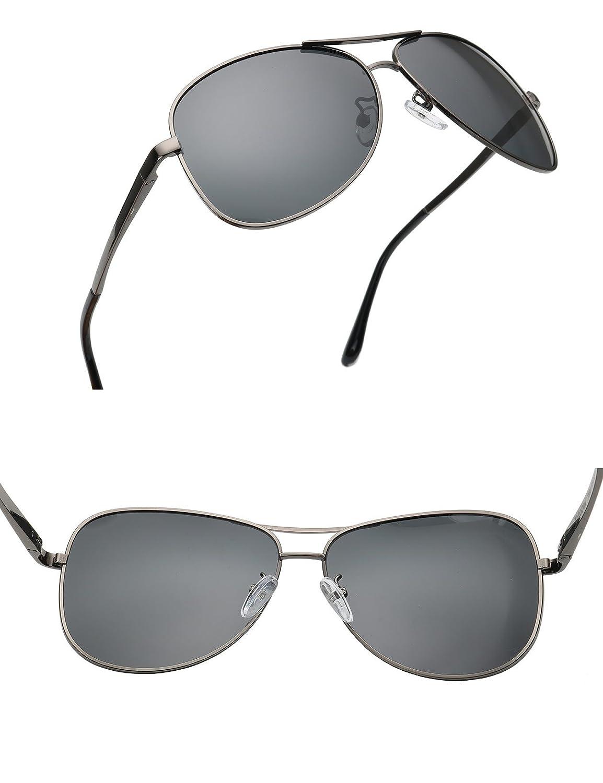Amazon.com: baviron para hombre Aviator anteojos de sol ...