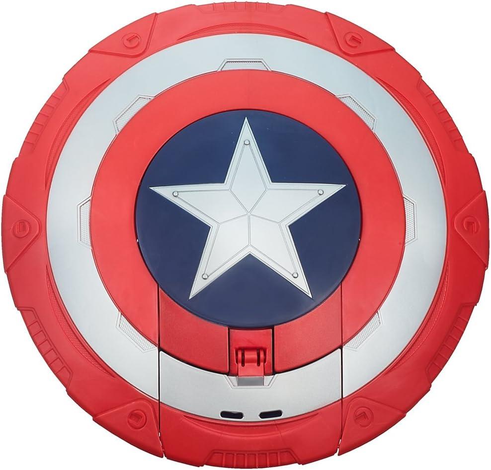 Hasbro Capitan America, Scudo Elettronico Lancia Dardi