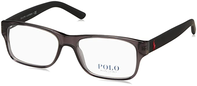 a23531a638 Ralph Lauren POLO 0PH2117 Monturas de gafas, Crystal Grey, 52 para Hombre:  Amazon.es: Ropa y accesorios