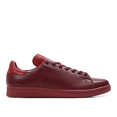 f42566f3cec adidas x RAF Simons Men Stan Smith Burgundy Power red collegaite Burgundy  Size 8.0 US