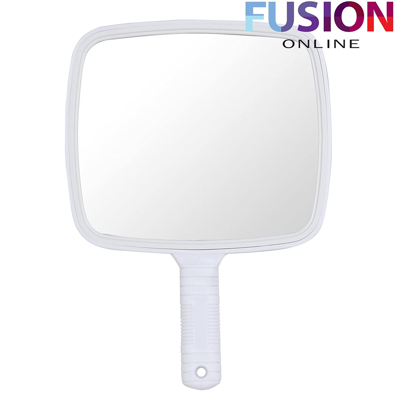 Evelyn Living Professional Black Hand Held Mirror For Makeup Hairdressers Barbers Salon Wall Hanging
