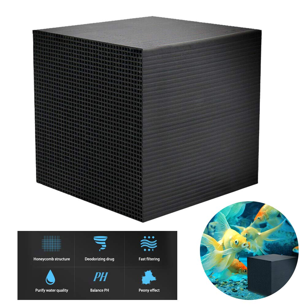 OMNFAS Nano Water Purification Cube for Fish Tank Bottom Filter Material Beneficial Bacteria Cultivation Eco-Aquarium Water Purifier Cube by OMNFAS
