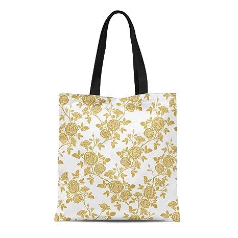 Amazon.com: Bolsa de lona de algodón semitromático con ...