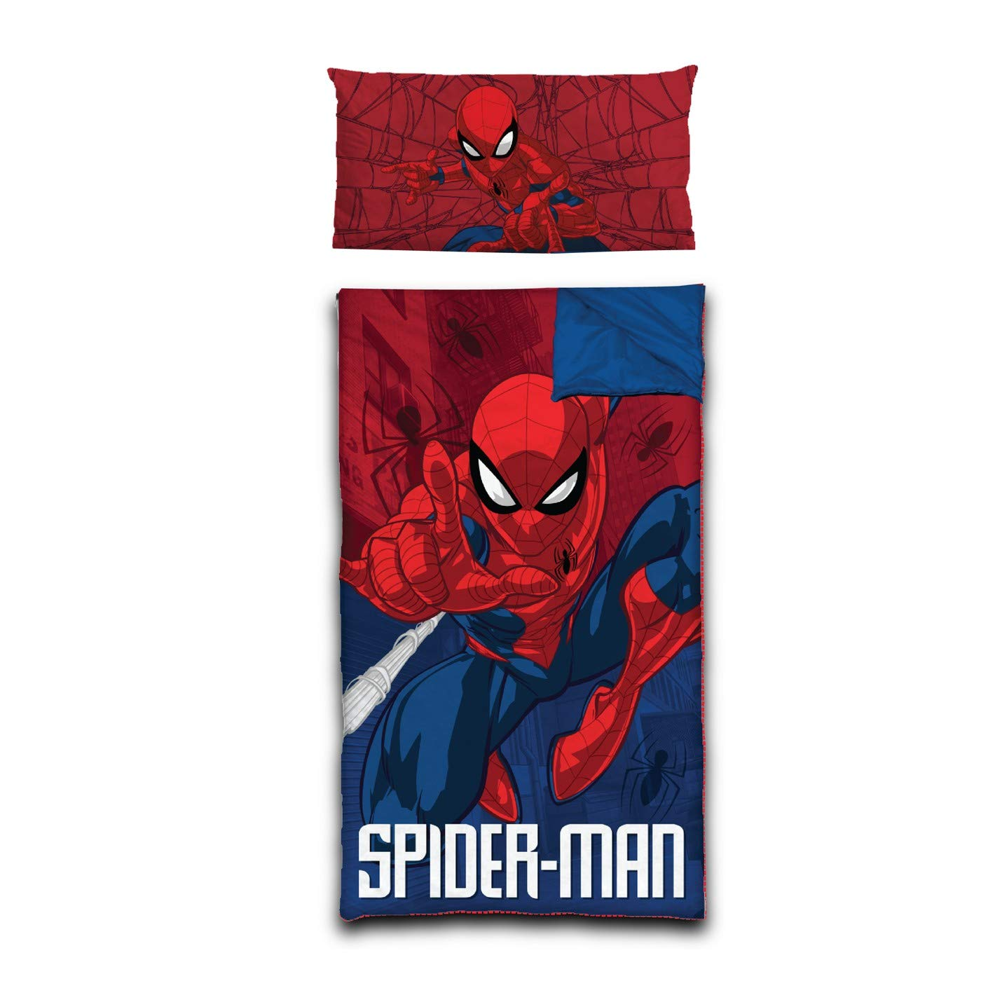 Marvel Spiderman Slumber Bag with Pillow by Marvel