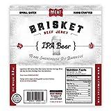 3 beer bbq rub - Meat Maniac Brisket Beef Jerky 3oz (IPA Beer Brisket Jerky)
