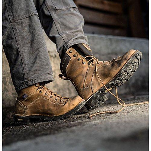 Danner Stenbrott Usa 8 Nödställda Brun (17315) Vibramsula Olja Och Halkfritt | Gjort I Usa Vattentät Gore-tex (gtx) | Modern Slagfält Bekämpa Boot | Elektrisk Fara Starta Läder