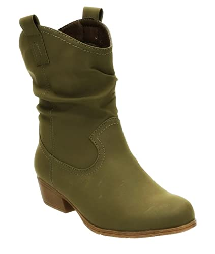 Stiefelette Boots Stiefel Im Western Look Schwarz 6 Cm(eur 36) hM9DASmM