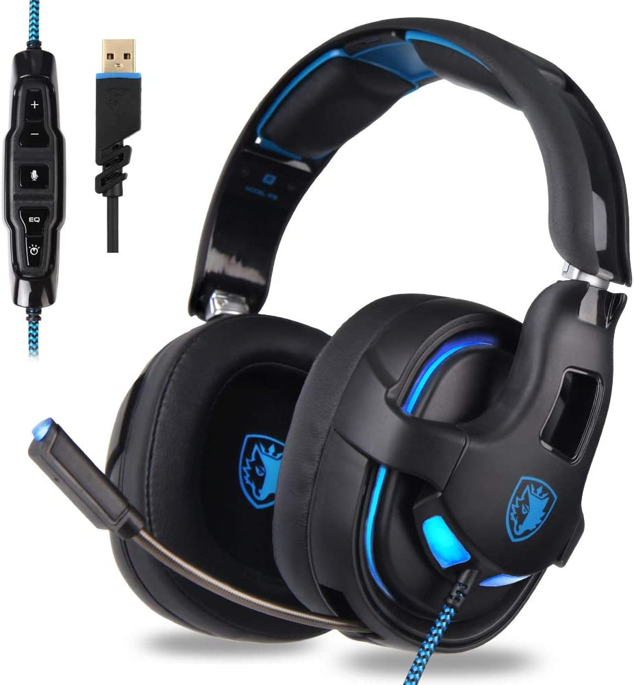 Free Amazon Promo Code 2020 for R15 Gaming Headset USB Headset Stereo