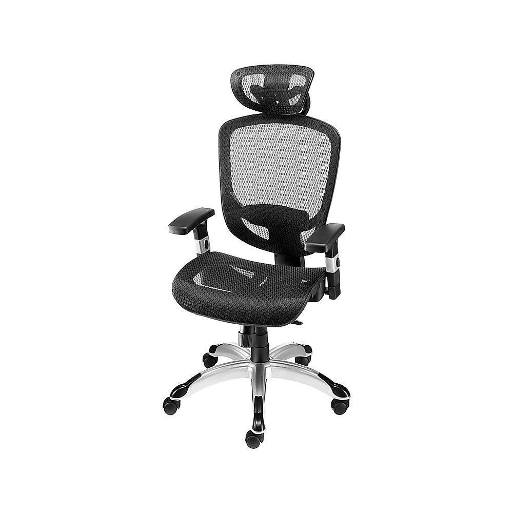 Staples 990119 Hyken Technical Mesh Task Chair Black by STAPLES