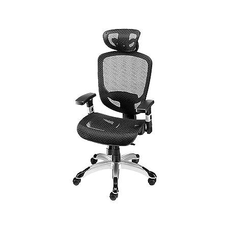 Staples 990119 Hyken Technical Mesh Task Chair Black