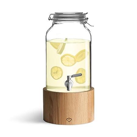 Dispensador de Bebidas con Grifo de Acero Inoxidable GRETA ...