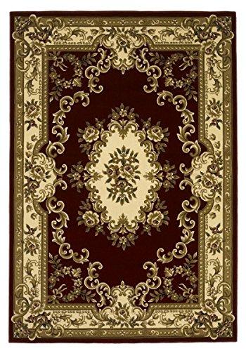 KAS Oriental Rugs Corinthian Collection Aubusson Area Rug, 3'3