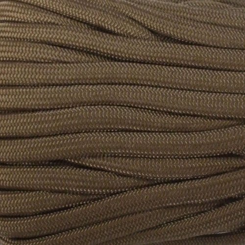 Army Universe Coyote Brown 550LB Military Nylon Paracord Rope 100 Feet by Army Universe (Image #2)