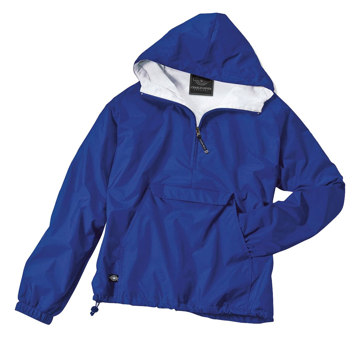 Charles River Apparel The Classic Collection Classic Solid Nylon Pullover Jacket from by Charles River Apparel