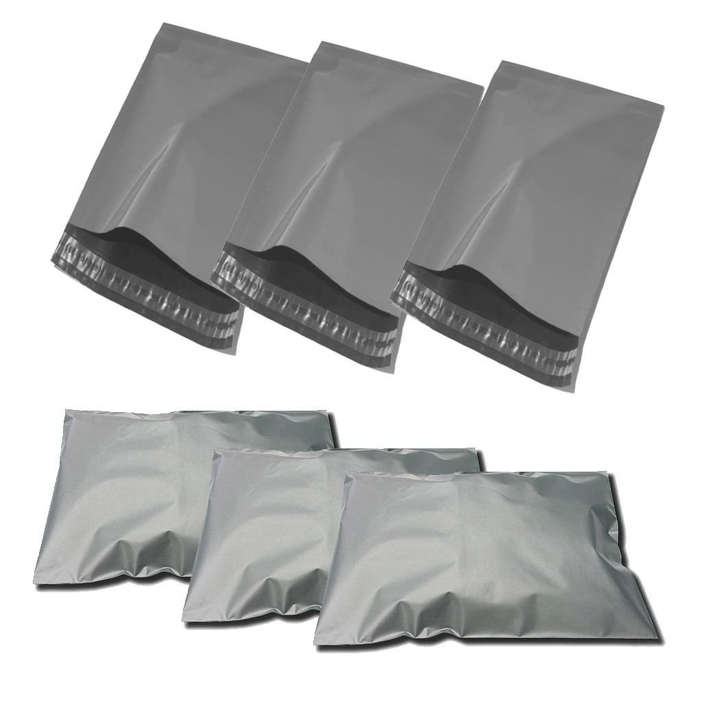 6.5'' X 9'' Grey Mailing Bags Strong Poly Postal Postage Post Mail Self Seal All Sizes Cheap 5 Sizes✓UK Seller✓Same Day Dispatch✓ (1)
