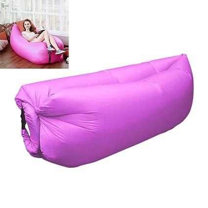 easylavie sofá tumbona hinchable de Luxe – Saco de dormir, de compresión Air camas,