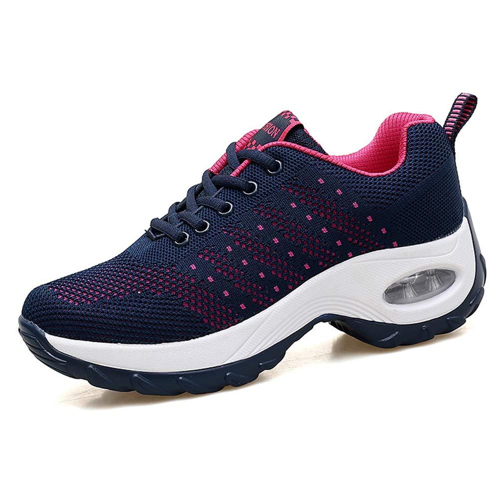 YAN Damenschuhe Mesh Sportschuhe Low-Top Casual schuhe Outdoor Wanderschuhe Athletic Schuhe Training Schuhe,A,35