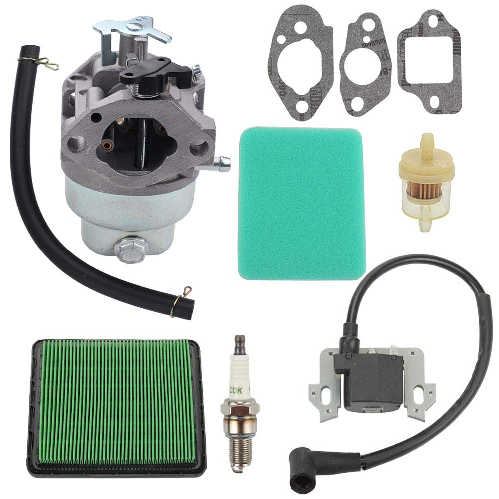 GCV160 Carburetor Tune Up Kit Air Filter For Honda GCV160A 16100-Z0L-023 HRB216