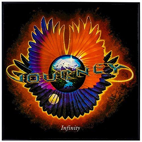 "- Journey ""Infinity"" Framed Album Cover Wall Art 70's 80's Rock Band"