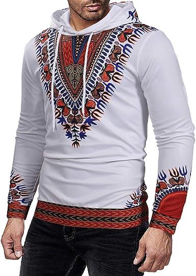 Sudaderas Moda Hippie Sudadera con Capucha para Mujer Boho LMMVP Camiseta de Manga Larga Suéter Outwear Camisas Blusa Top Chándales Invierno de Otoño Casual Abrigo: Amazon.es: Ropa y accesorios