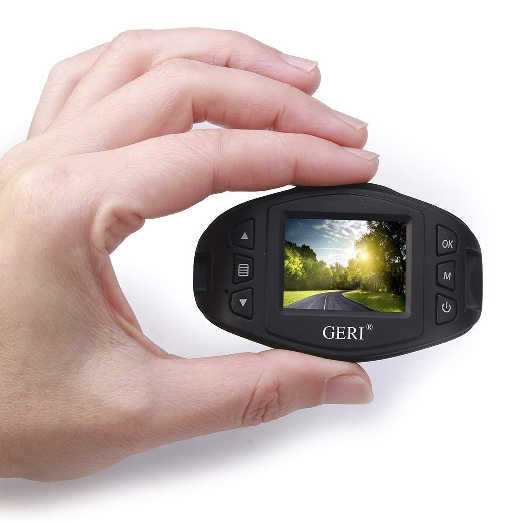 GERI Dashboard Camera with Full HD 1080P G-Sensor C091CZ Dash Cam Dash Camera Wide Angle 1.5 LCD Car DVR Driving Video Recorder with Motion Detection,Night Vision Loop Recording