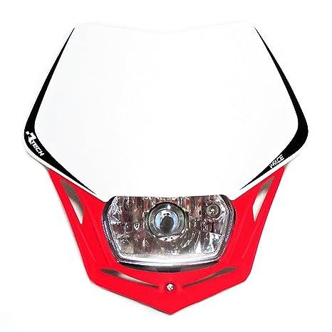 Maschera Faro RaceTech V-Face colore Nero Verde