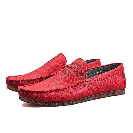 Amazon.com: QIDI Zapatos casuales para hombre, de goma ...