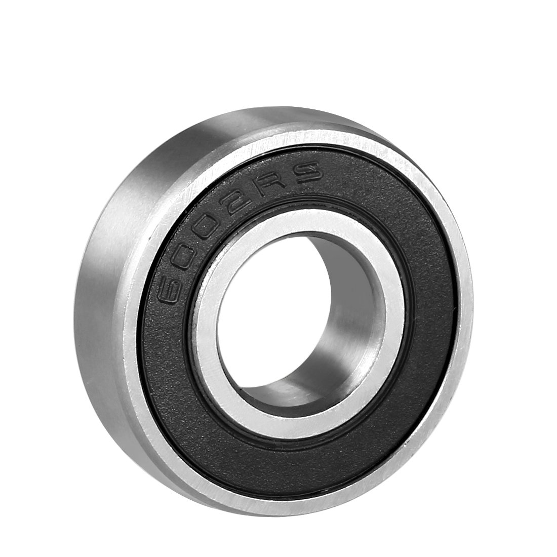 sourcingmap 6000RS Deep Groove Ball Bearing Single Sealed 160100, 10mm x 26mm x 8mm Chrome Steel Bearings (Pack of 1) a18051100ux0073