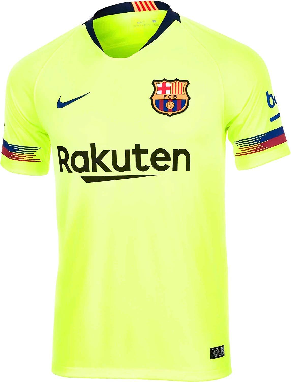 Nike Herren 2018 19 Fc Barcelonastadium Away Fußball T-Shirt