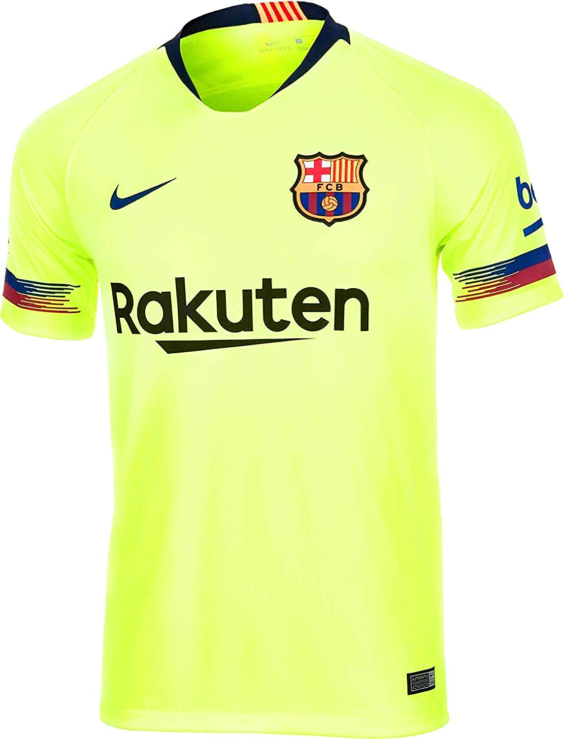 on sale cbca5 aae38 Amazon.com: NIKE 2018-2019 Barcelona Away Football Shirt ...