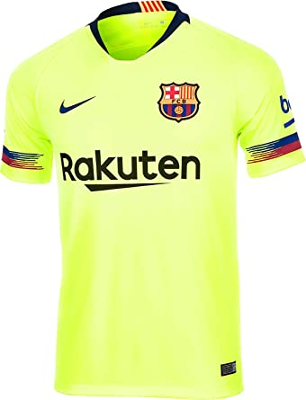 376d6d43e383b Amazon.com: NIKE 2018-2019 Barcelona Away Football Shirt: Clothing