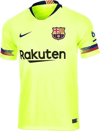 Amazon Com Nike 2018 2019 Barcelona Away Football Shirt Clothing