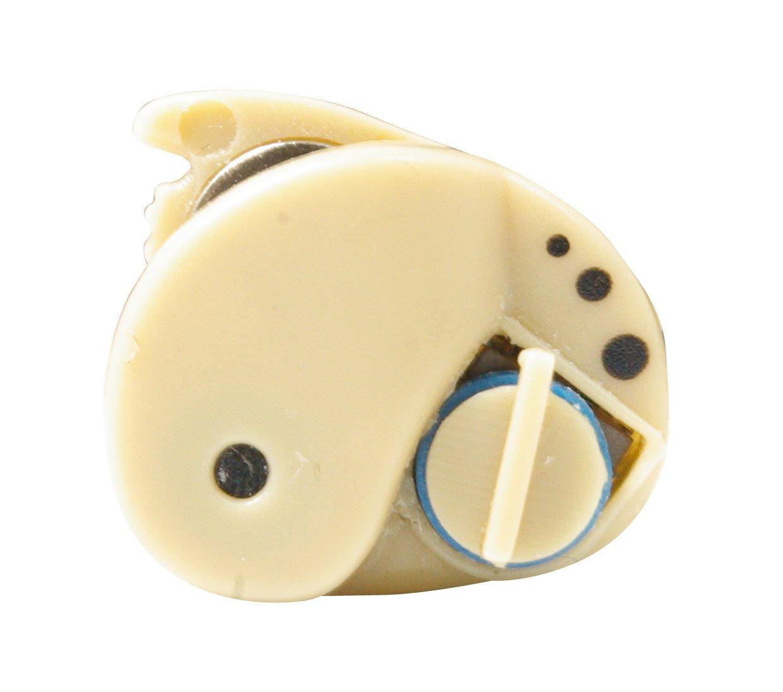 電池式 簡単らくらく 【耳穴式】 小型簡易集音器 2個セット両耳に B00XJ5NJME