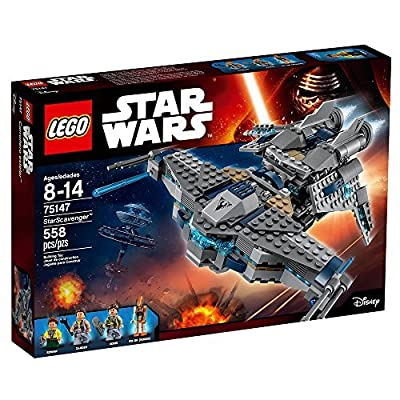 LEGO Star Wars StarScavenger 75147 Star Wars Toy: Toys & Games