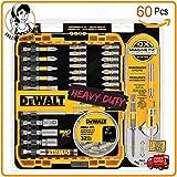 FS Fahm Set 60 DEWALT Magnetic Impact Screwdriver Bit Lock ⬢ Cordless Driver Drill Bits