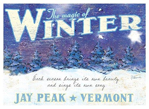 Jay Peak Vermont (32x44 Archival Print)