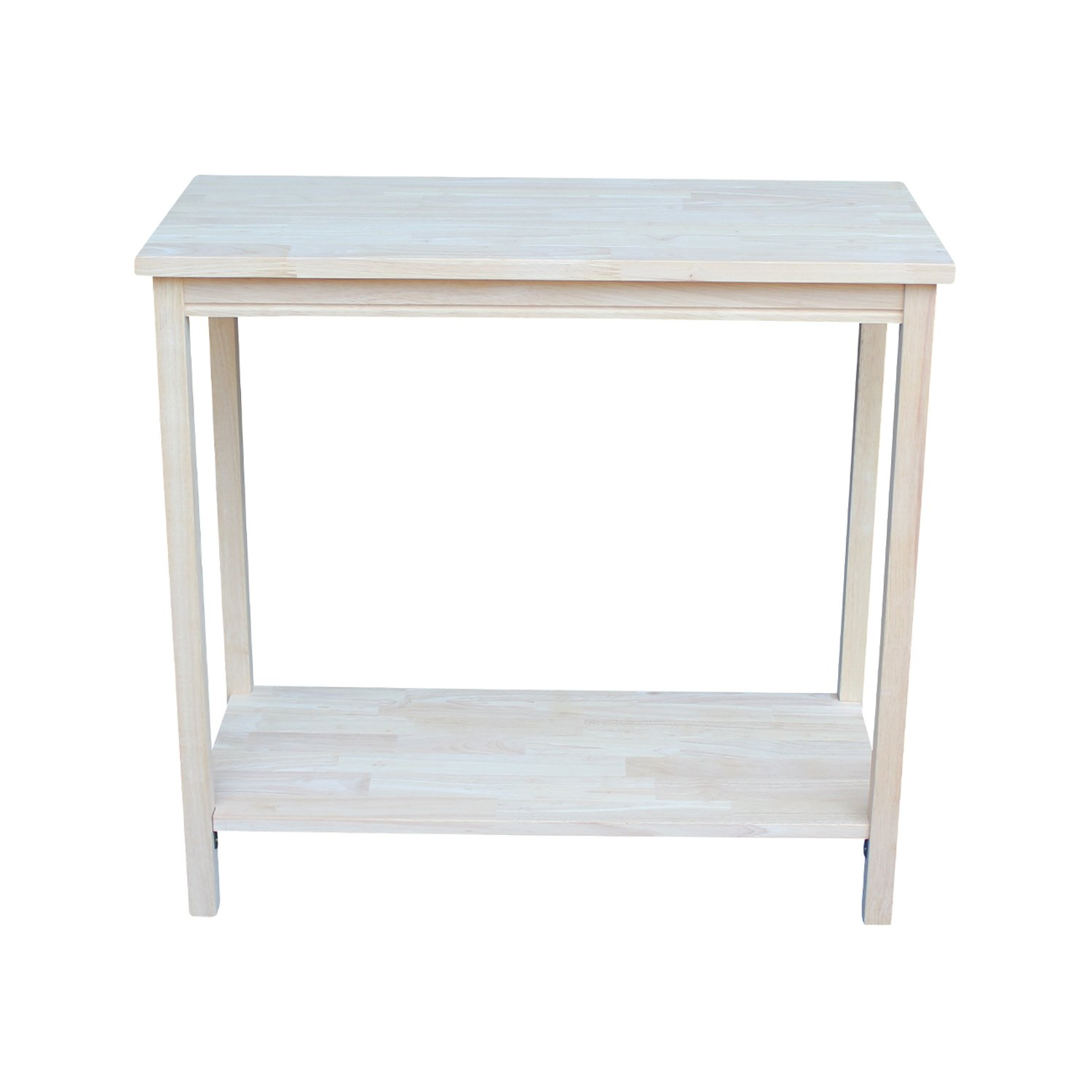International Concepts OT-43 Accent Table, Unfinished by International Concepts (Image #3)