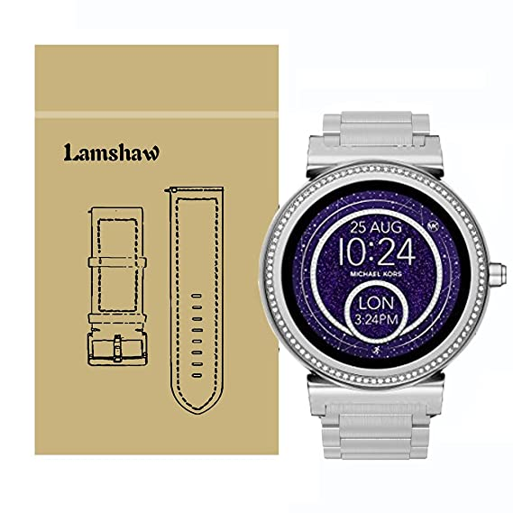 f815f93fa608 Amazon.com  Lamshaw Quick Release Smartwatch Band for Michael Kors ...