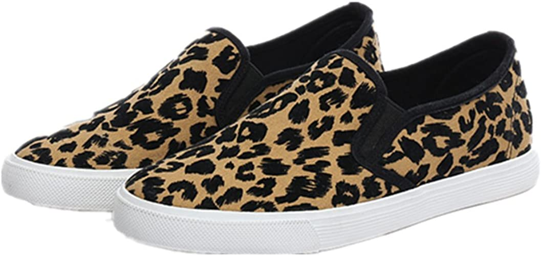 Leopard Print Slip-On