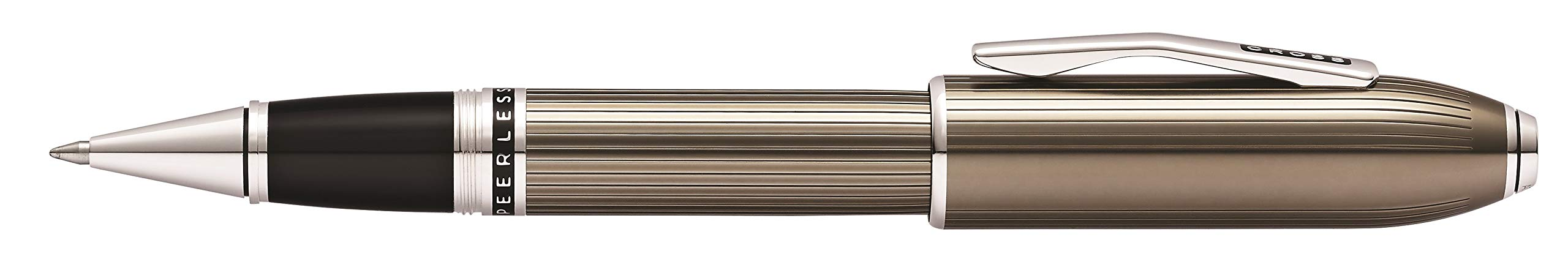 Cross Peerless Translucent Titanium Gray Selectip Rollerball Pen by Cross (Image #2)
