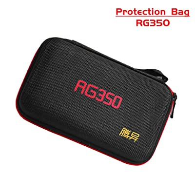 SHZONS Portable Retro Game Console Protection Bag Protective Storage Bag for RG350 Waterproof, Drop, Dustproof Game Machine Storage Suitcase: Home & Kitchen